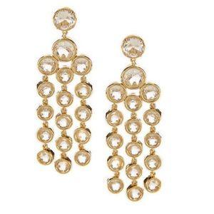 Kate Spade Chandelier Earrings Subtle Sparkle